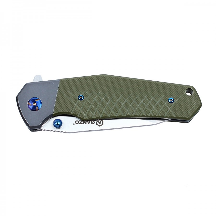 Knife Ganzo G7491 (Black, Green, Orange)