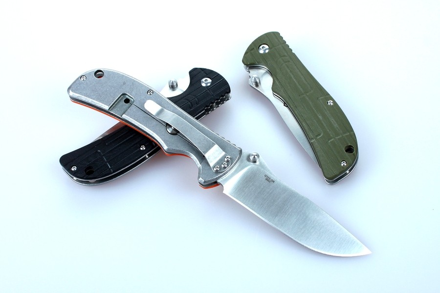 Knife Ganzo G723M (Black, Green, Orange)