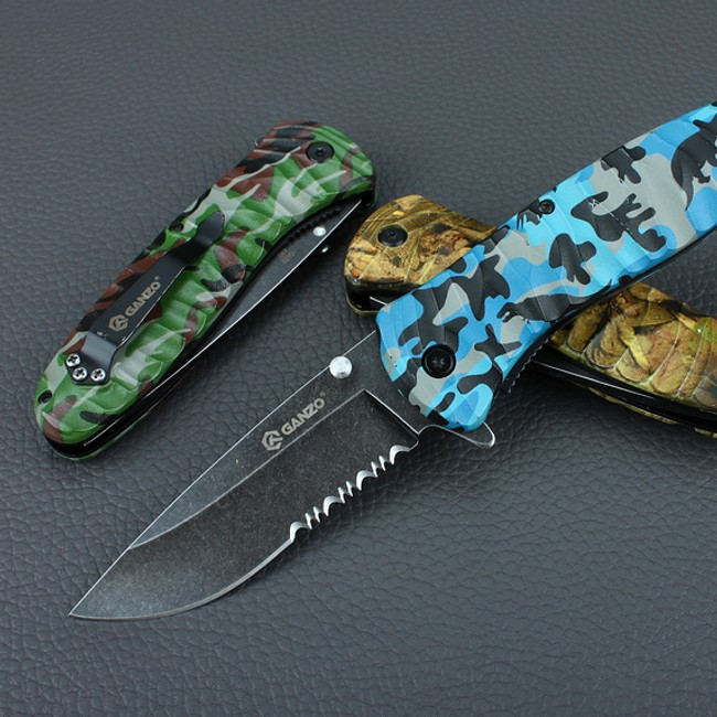 Knife Ganzo G622-CA1-4S, Blue
