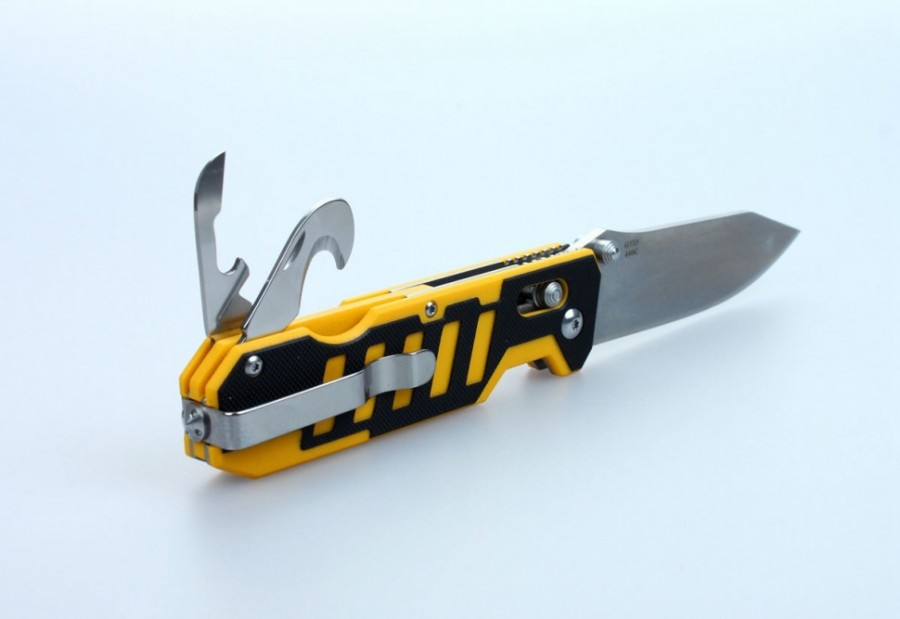 Knife Ganzo G735 (Black, Orange, Green, Black-Orange)