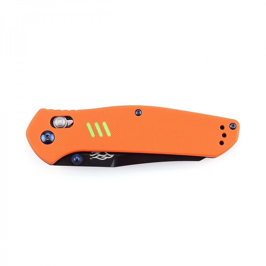 Knife Firebird F7563 (Black, Green, Orange)
