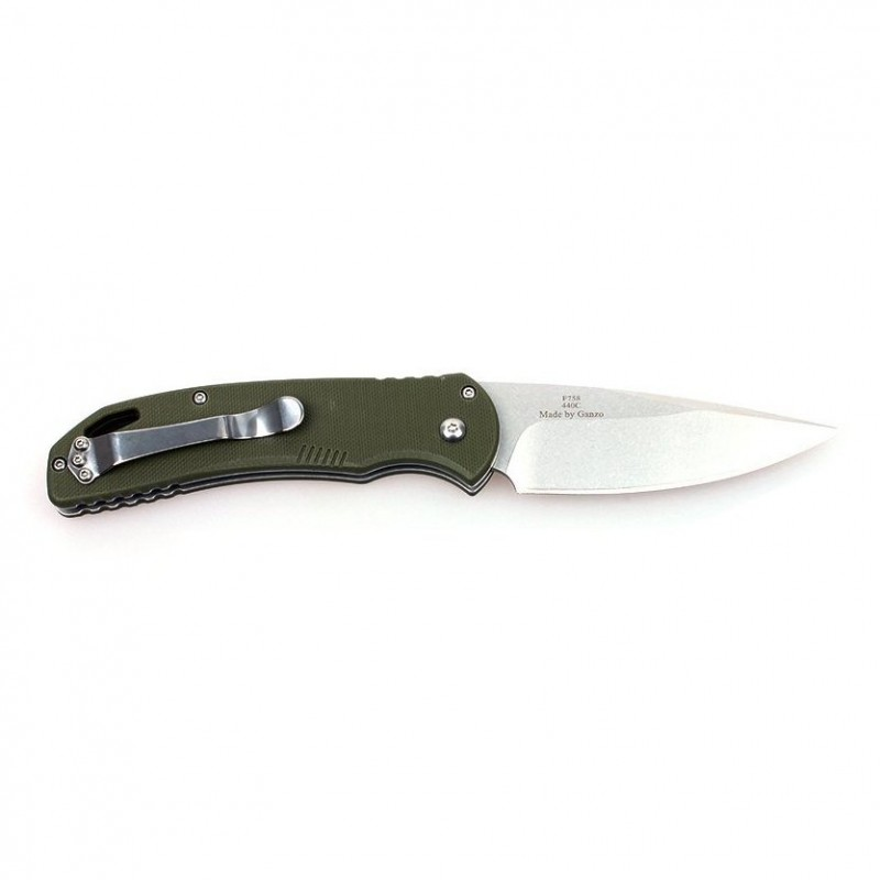 Knife Firebird F7582 (Black, Orange, Green)