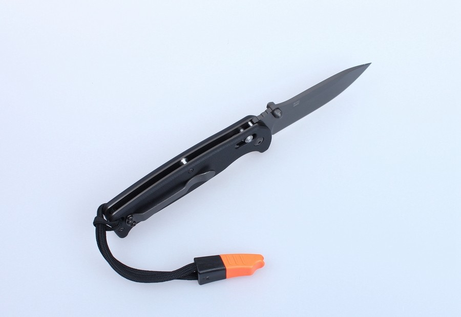 Knife Ganzo G7413-WS (Black, Green, Orange)