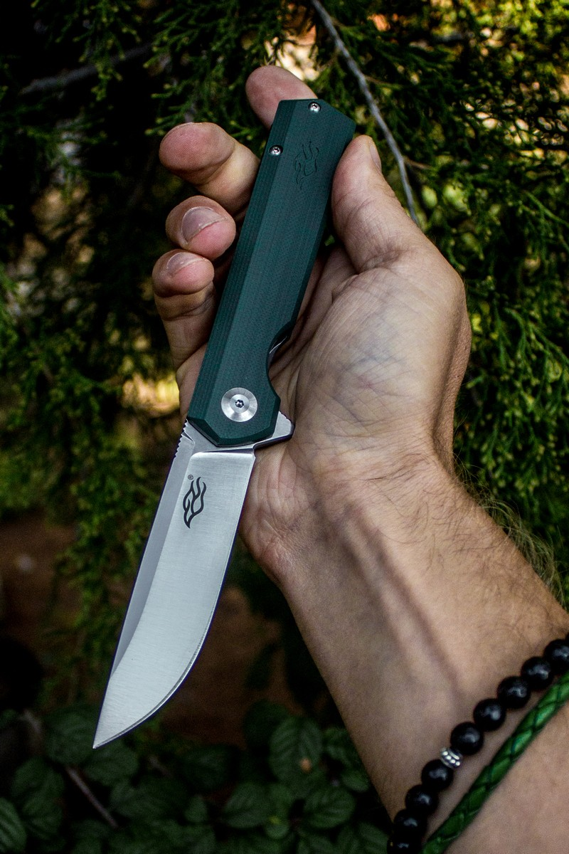 Knife Firebird FH11 (Black, Green)